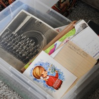 The Stuff Of Family & Ancestors: Thoughts While Sorting Through Boxes
